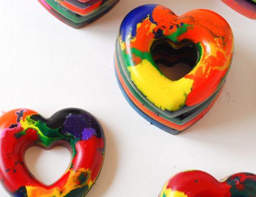 Crayon heart valentines-mamitalks