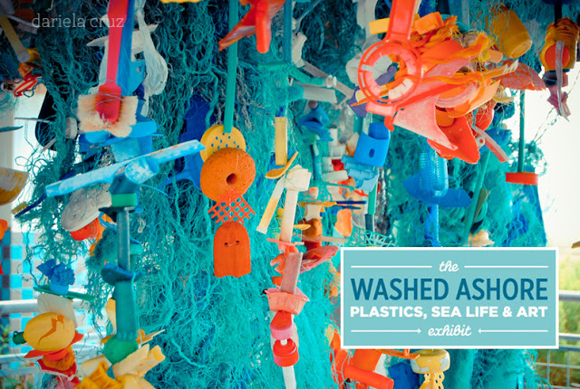 washed ashore art exhibit