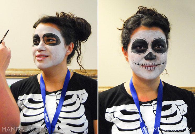 Día de los Muertos Celebration, Catrina makeup -MamiTalks.com