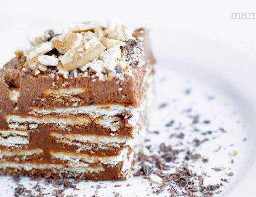 Receta de Marquesa de chocolate -Mamitalks.com