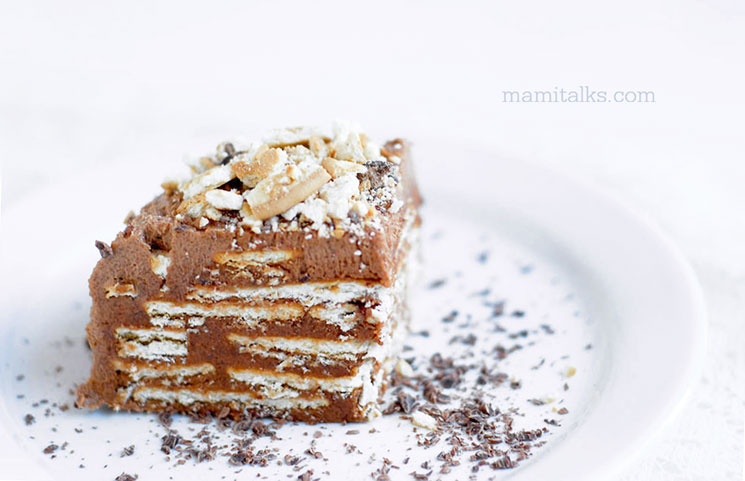 Marquesa de chocolate -Mamitalks.com