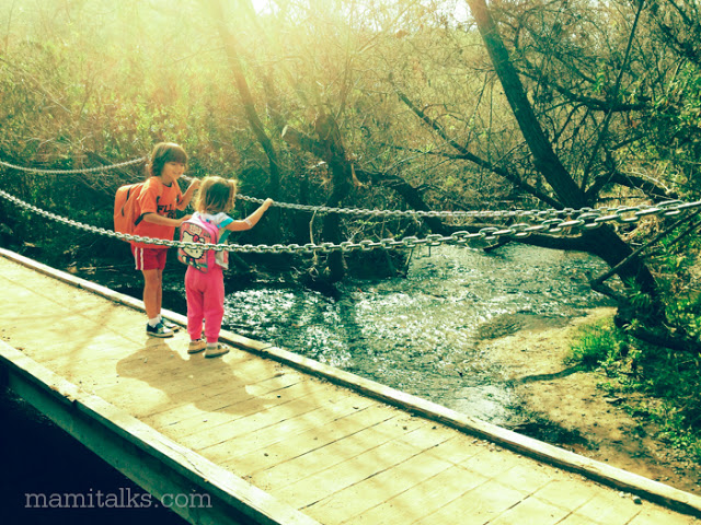 little-boy-and-girl-on-a-bridge
