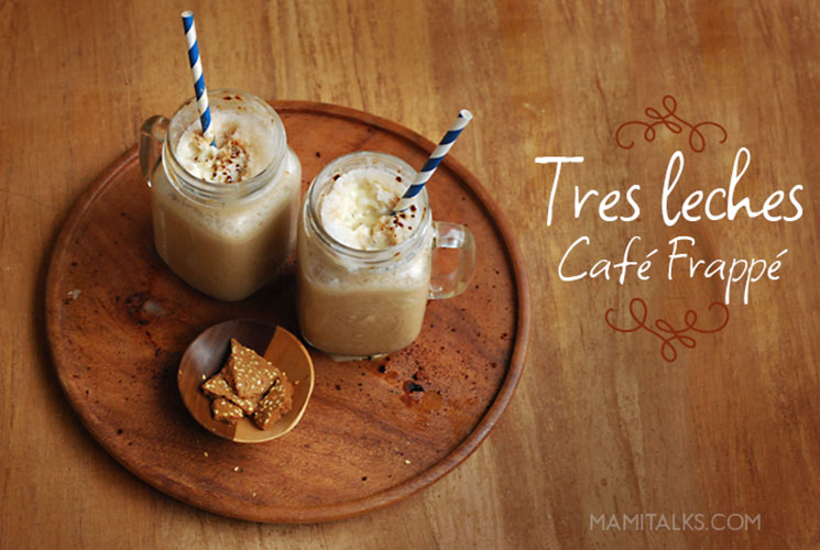 Tres leches café frappucino -mamitalks.com
