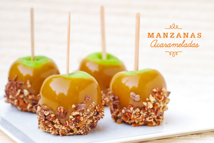 Manzanas acarameladas. MamiTalks