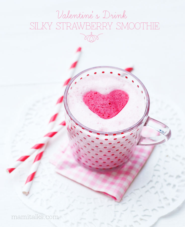 Strawberry Smoothie -MamiTalks.com