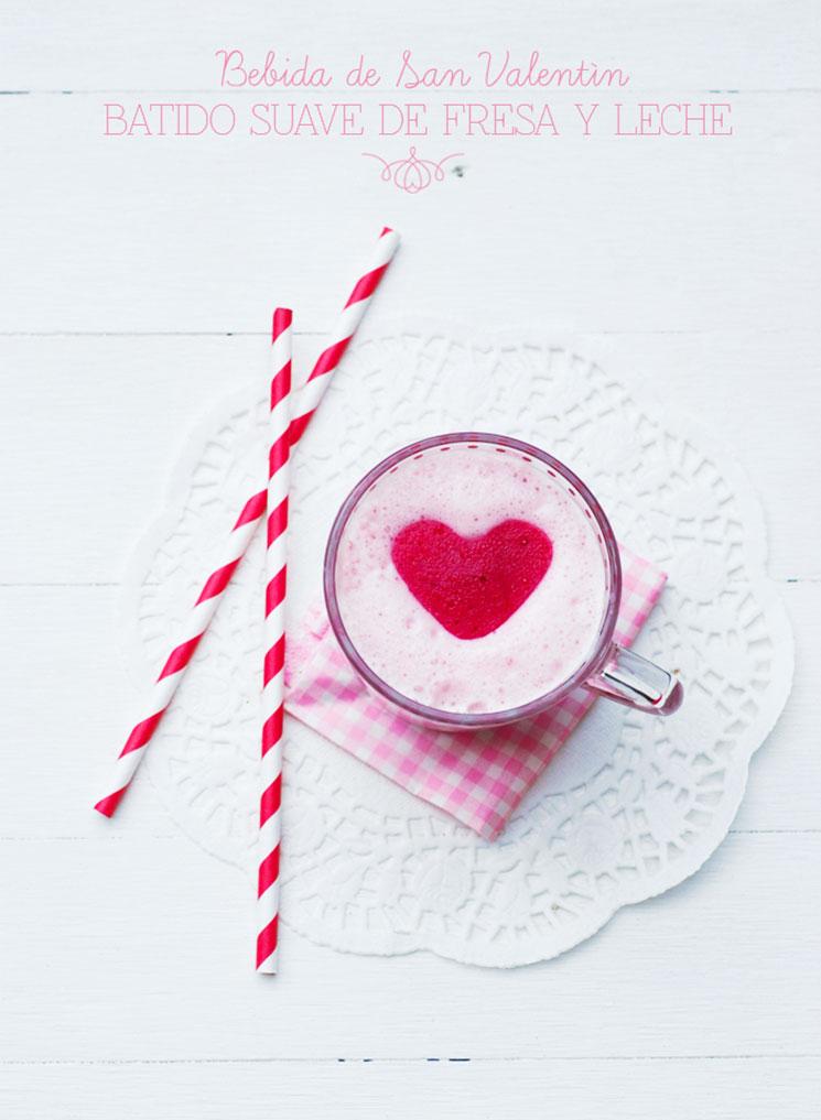 Batido de fresa y leche -MamiTalks.com