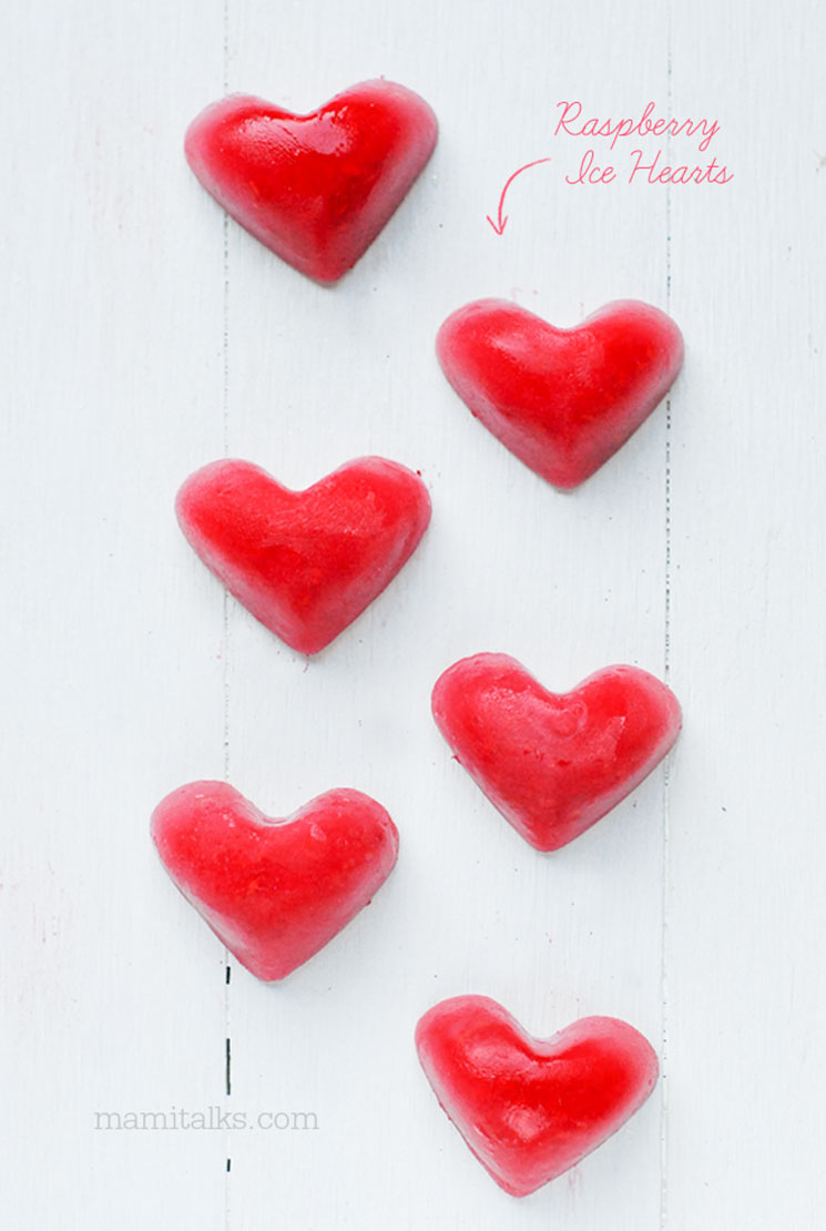 Raspberry ice hearts -MamiTalks.com
