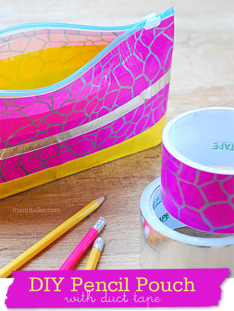 DIY Pencil Pouch -MamiTalks.com