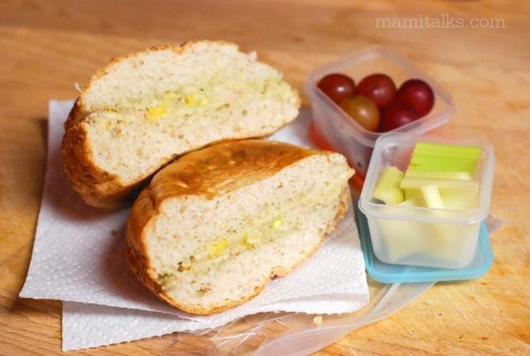 Tuna sandwich for kid's lunch -MamiTalks.com
