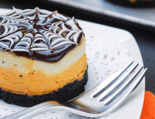 Halloween Mini Cheesecake -MamiTalks.com