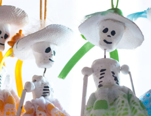 Dia de muertos decorations galore! -MamiTalks.com