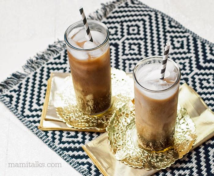 Una bebida facilita y rica con refresco de cola y leche