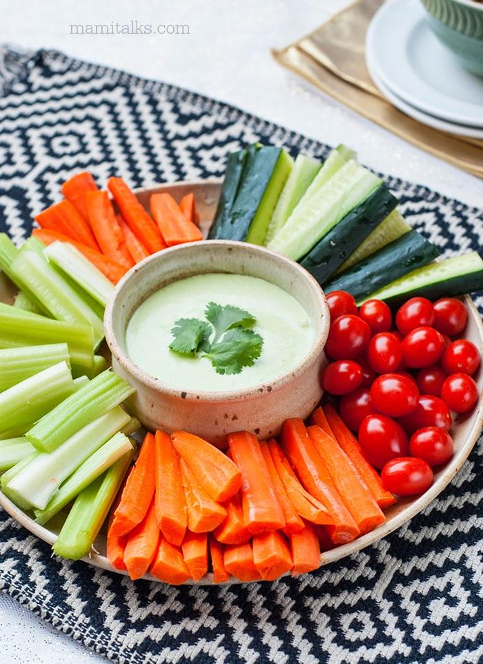Dip de vegetales