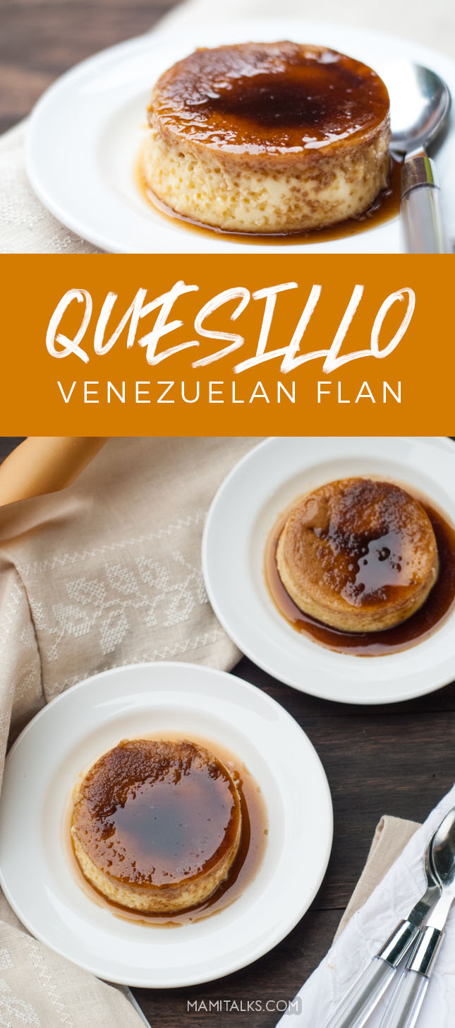 Quesillo, Venezuelan flan. MamiTalks.com