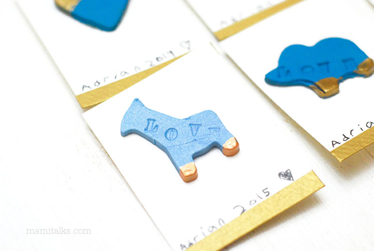 Imanes para san Valentín en forma de animalitos -MamiTalks.com