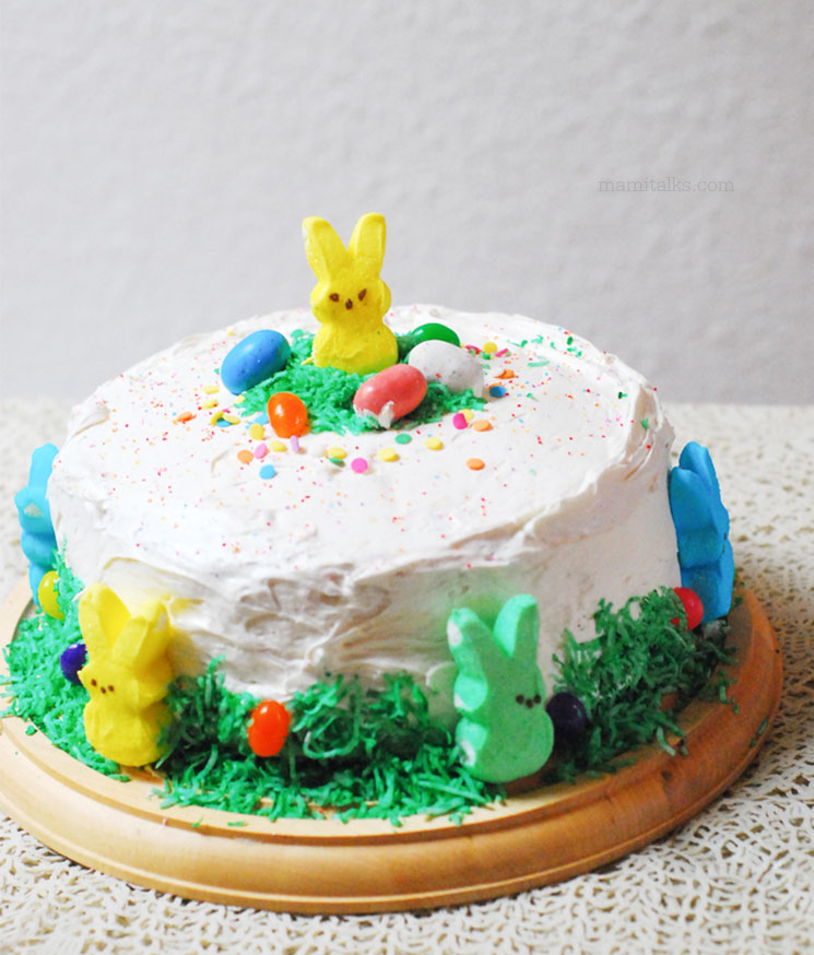 Easter cake decoration idea -MamiTalks.com