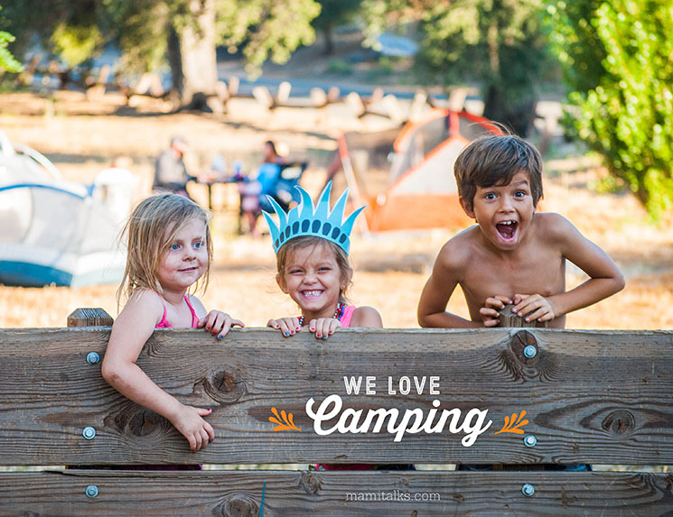 Let's go camping -MamiTalks.com