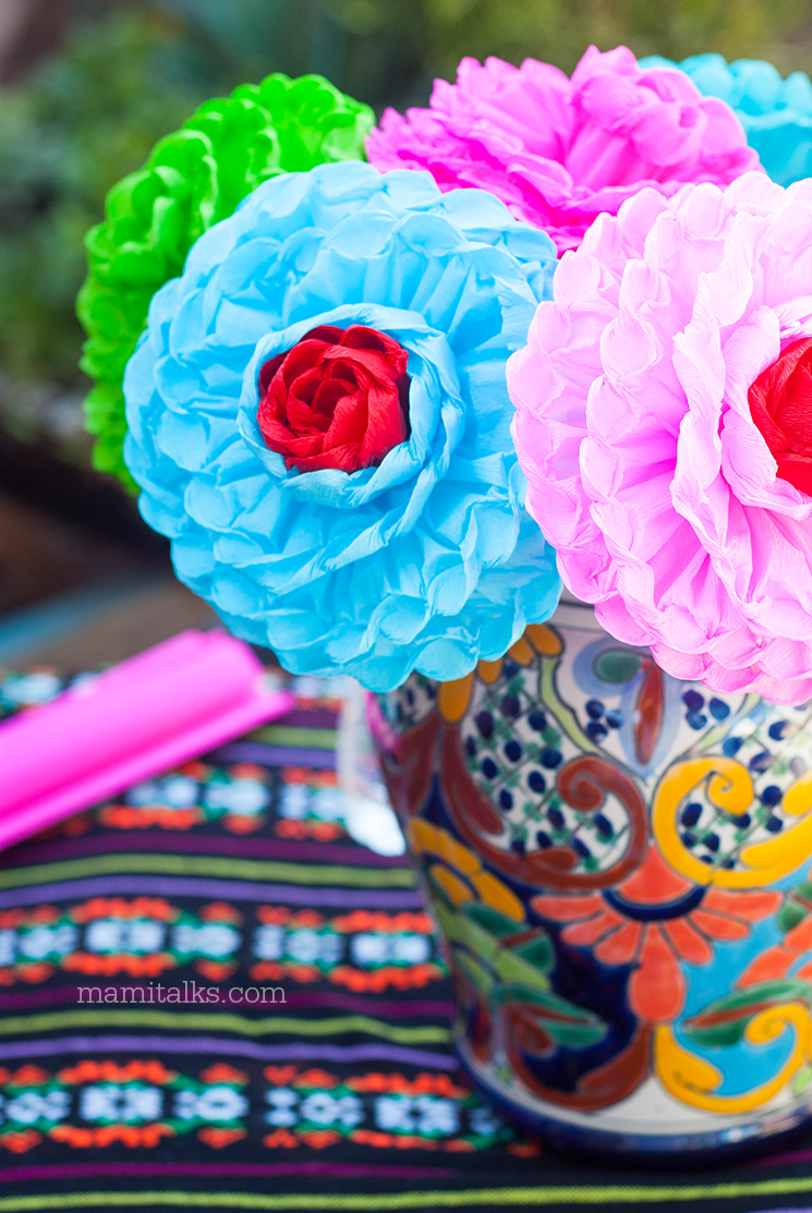 Buy paper flower for Day of the dead -MamiTalks.com