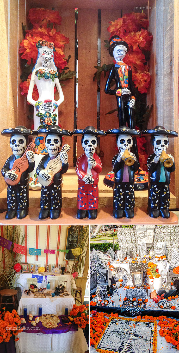 Day of the dead altars -MamiTalks.com