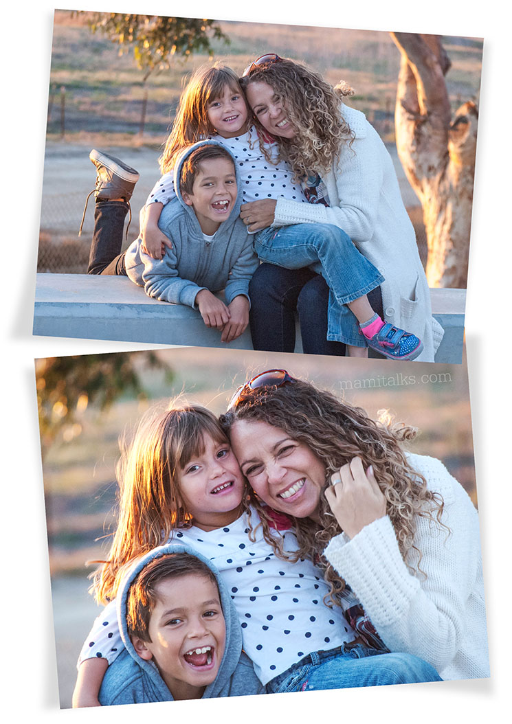 Family photos in winter -MamiTalks.com