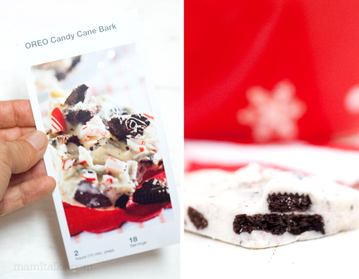 Tarjeta de Pinterest con ejemplo de turron de chocolate blanco
