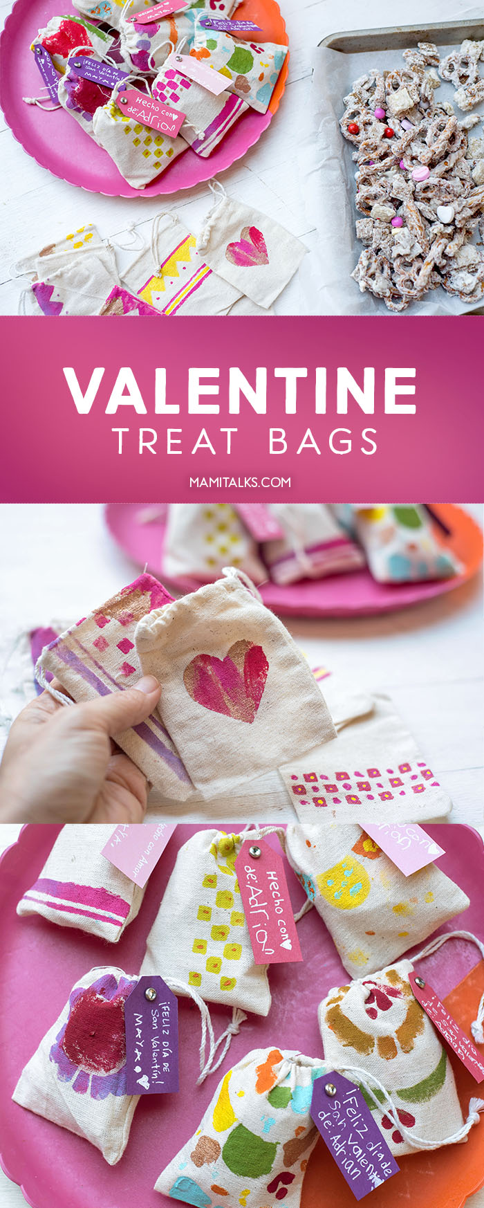 Valentine treat bags. -MamiTalks.com