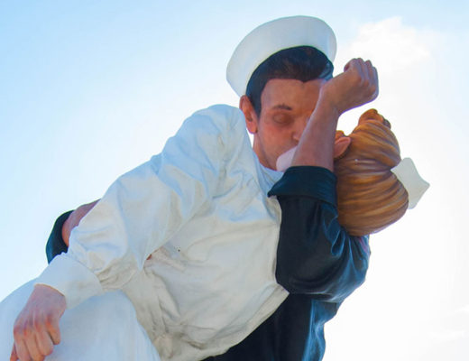 Unconditional Surrender Statue feature -mamitalks