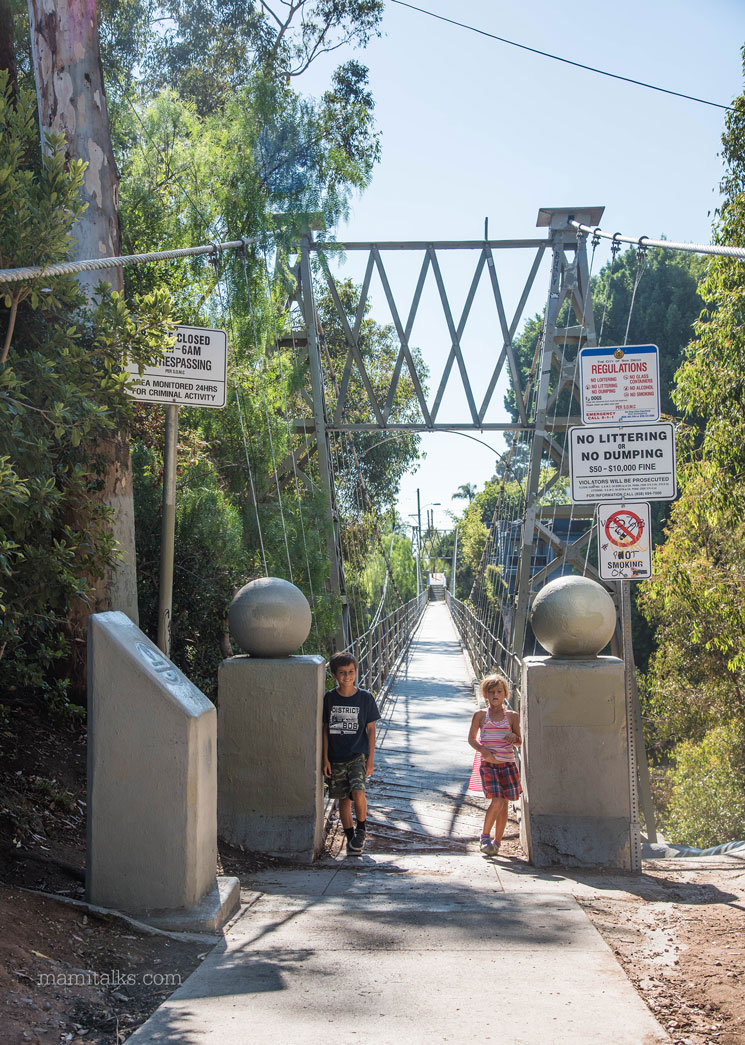 Bruce Street Bridge San Diego, learn about this hidden gem, fun place to visit! -MamiTalks.com