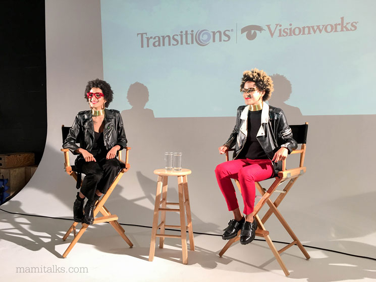 Coco and Breezy with Transitions and Visionworks at We All Grow field trip -MamiTalks.com