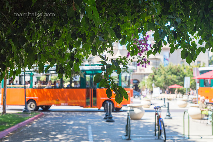 Balboa park trolley -MamiTalks.com