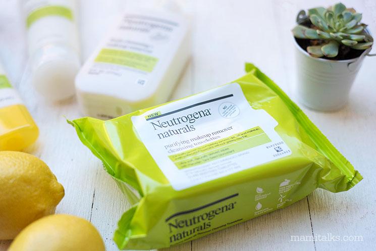 Neutrogena Naturals towelettes -MamiTalks.com