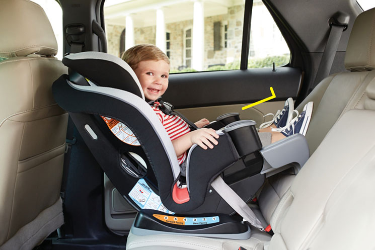 Graco Extend2 Fit Car Seat extension use for toddler -MamiTalks.com