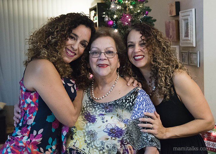 Photo with Abuelita -MamiTalks.com
