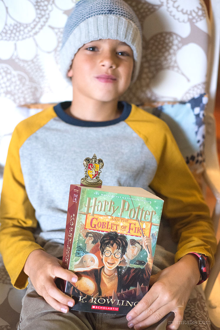 10 year-old  Harry Potter fan -MamiTalks.com