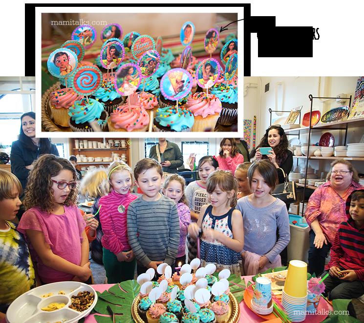 Moana Cupcake toppers -MamiTalks.com