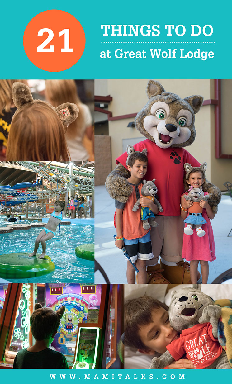 21 Things to Do at Great Wolf Lodge, so many things to do all inside the resort! -MamiTalks.com