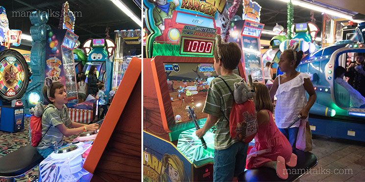 Arcade at Great Wolf Lodge -MamiTalks.com