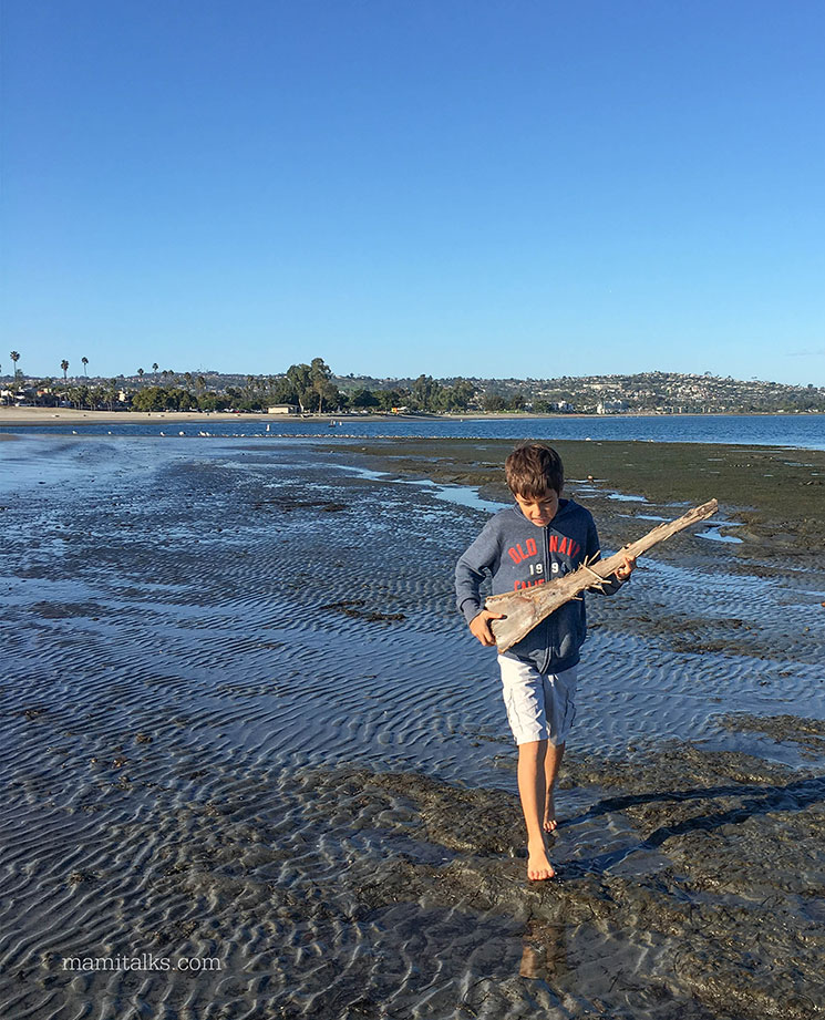 Different ways to enjoy the beach: Mission Bay San Diego -MamiTalks.com