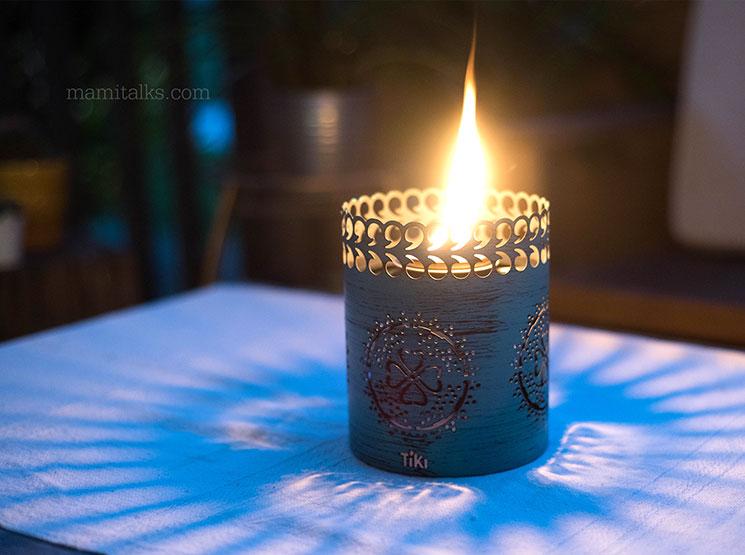 Tiki Brand Clean Burn Firepiece with Flameshield review -MamiTalks.com