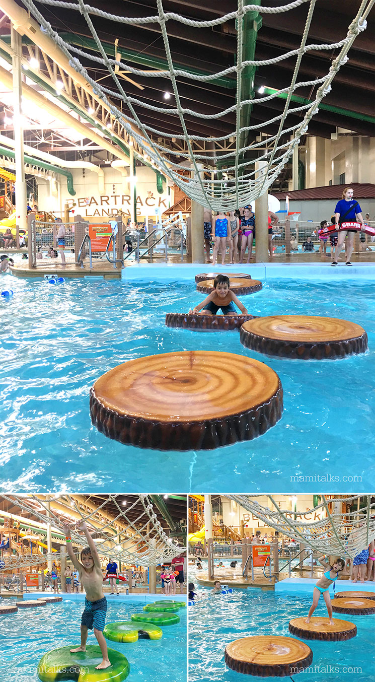 Great Wolf Lodge Water Obstacle course -MamiTalks.com