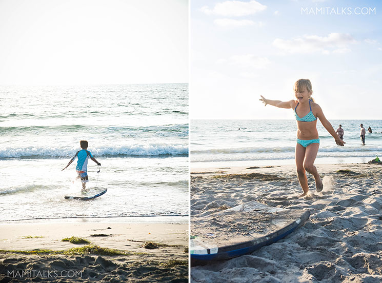 A day with kids in La Jolla, San Diego. La Jolla Shores. -MamiTalks.com