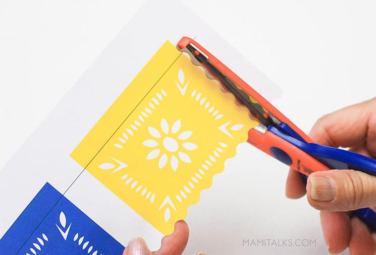 "photograph relating to Papel Picado Printable named printable-papel-picado-action1-mamitalks - Mami Talksâ""¢"