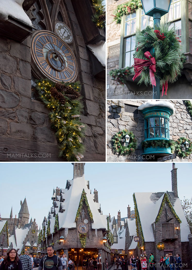 Christmas at Wizarding World of Harry Potter, Universal Studios Hollywood. -MamiTalks.com