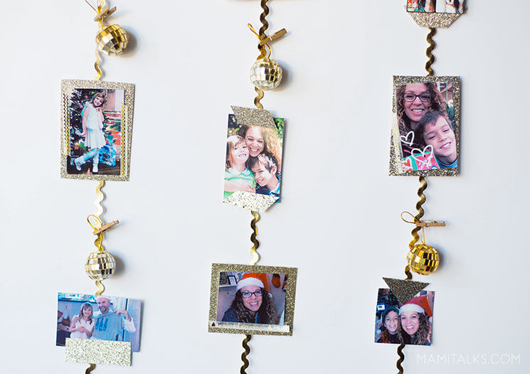 DIY Photo Garland with Hp Sprocket 2-in-1 -MamiTalks.com