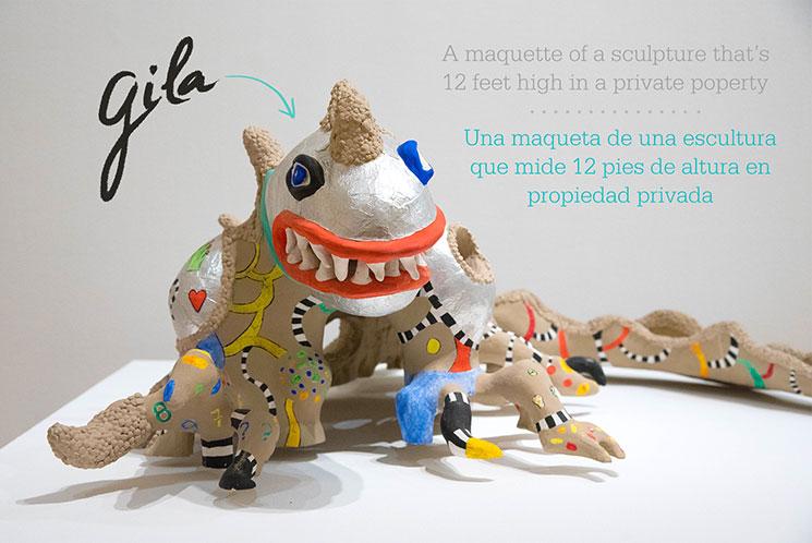 Gila sculpture rom Niki de Saint Phalle -Mamitalks.com