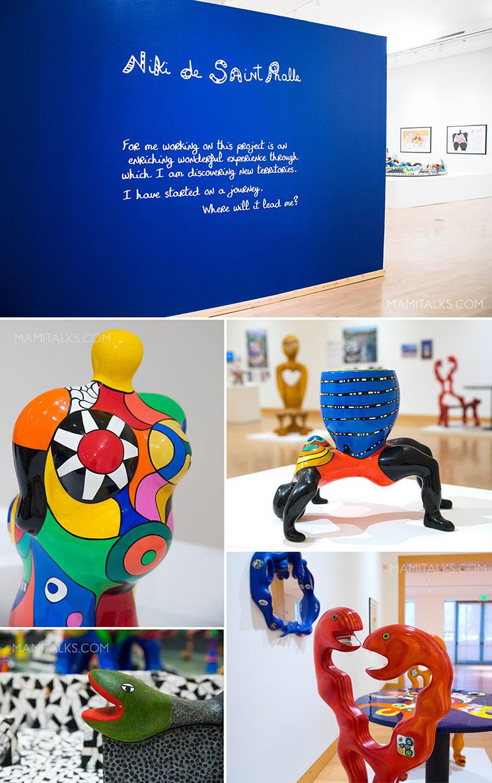 Niki De Saint Phalle exhibit, California Center of the Arts. -MamiTalks.com