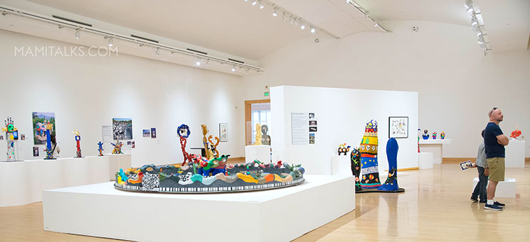 Niki De Saint Phalle exhibit San Diego -MamiTalks.com