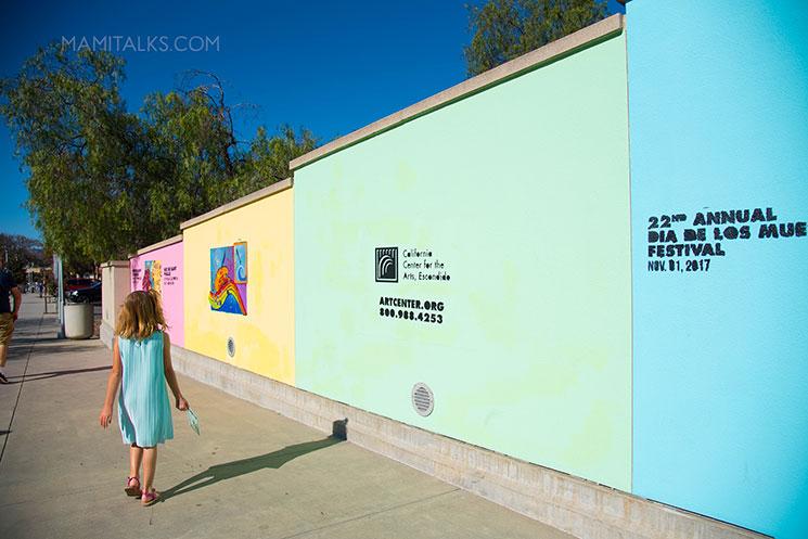 Niki De Saint Phalle, California Center of the Arts. -MamiTalks.com
