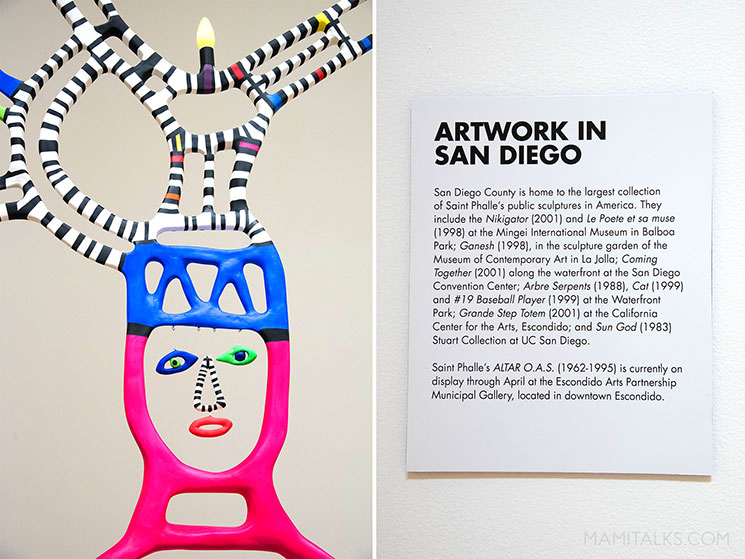 Niki de Saint Phalle San Diego -MamiTalks.com
