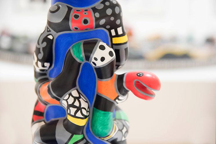 Niki De Saint Phalle sculpture. -MamiTalks.com
